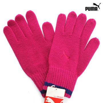 Puma Rožinės Pirštinės