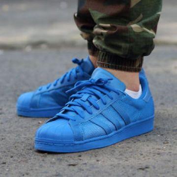 adidas Superstar Mėlyni Sportbačiai