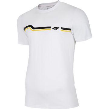Balti Marškinėliai 4F TSM024