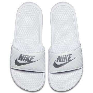 Nike Baltos Šlepetės Merginoms