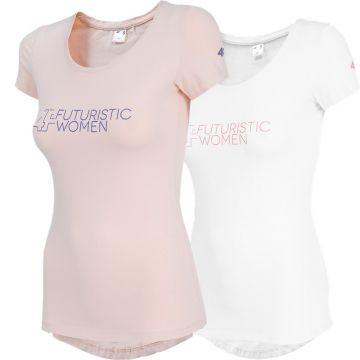Moteriški Marškinėliai 4F TSD011