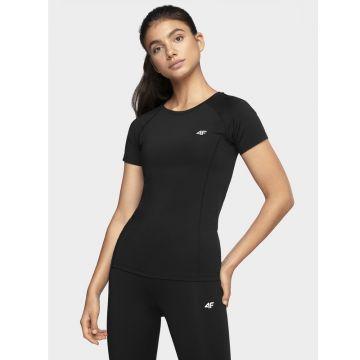 Juodi Sportiniai Marškinėliai Merginoms TSDF002