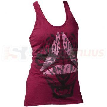 Reebok Brand Leopard Tank Moteriški Marškinėliai