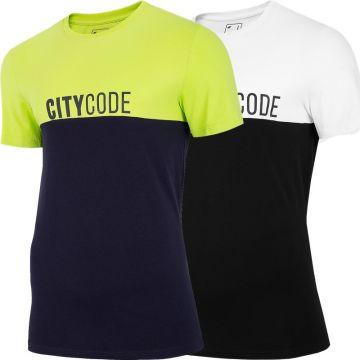 4F Vyriški Marškinėliai TSM014
