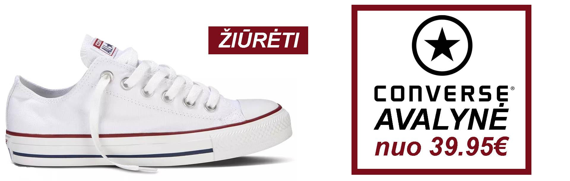 Converse batai geromis kainomis